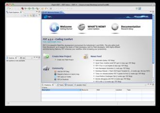 Powerflasher FDT - Image: FDT4 Screenshot Mac OSX