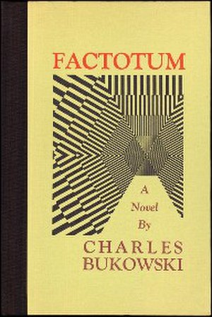 Factotum (novel) - First edition cover