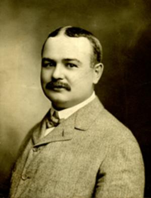 "James W. Faulkner - James W. ""Jim"" Faulkner, circa 1893, first president of the Ohio Legislative Correspondents Association."