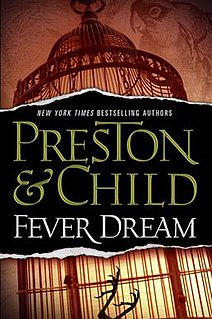 <i>Fever Dream</i> (novel) novel by Lincoln Child