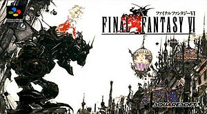 Final Fantasy VI - Box art of the original Super Famicom (Japanese) release