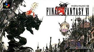 Final Fantasy VI - Box art of the original Super Famicom (Japanese) release