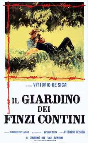 The Garden of the Finzi-Continis (film) - Theatrical release poster
