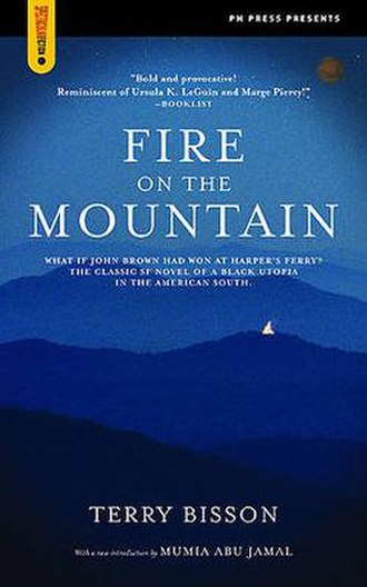 Fire on the Mountain (Bisson novel) - First edition cover