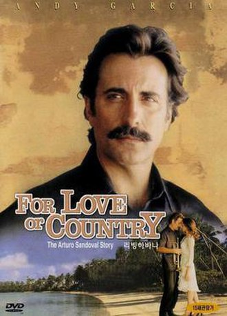 For Love or Country: The Arturo Sandoval Story - Image: For love or country the arturo sandoval story movie poster