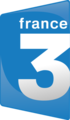 Logo of France 3 from 7 April 2008 till 29 January 2018