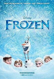 <i>Frozen</i> (2013 film) 2013 computer animated film produced by Walt Disney Animation Studios
