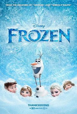Frozen (2013 film) - Theatrical release poster