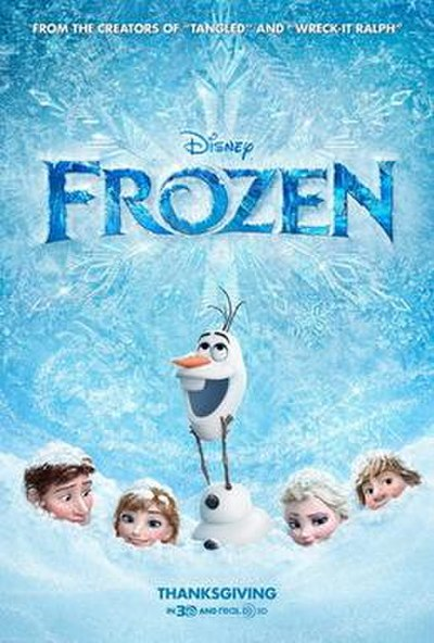 Picture of a movie: Frozen
