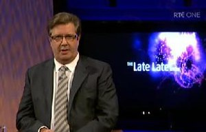 The Late Late Show (Irish TV series) - Gerry Ryan hosted the show on 24 October 2008 as Pat Kenny took time out following his mother's death