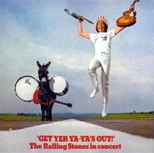 Get Yer Ya-Ya's Out! The Rolling Stones in Concert album cover