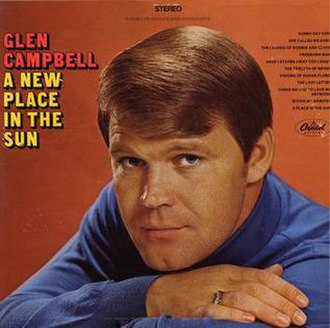 A New Place in the Sun - Image: Glen Campbell A New Place in the Sun album cover