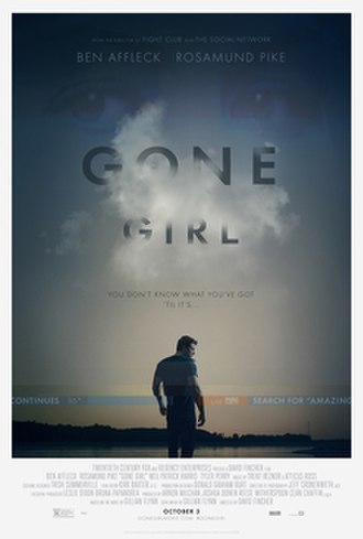 Gone Girl (film) - Theatrical release poster