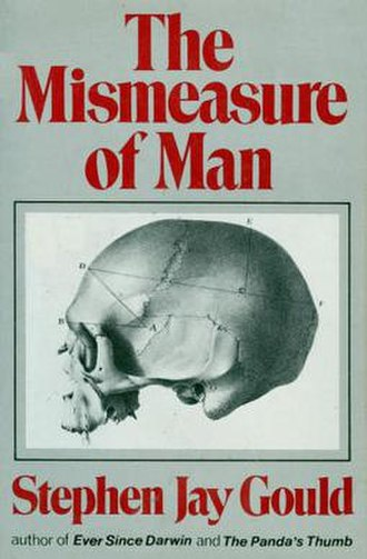 The Mismeasure of Man - Cover of the first edition
