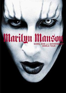 <i>Guns, God and Government</i> 2002 video by Marilyn Manson
