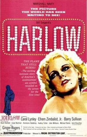 Harlow (Magna film) - Image: Harlow Film Poster