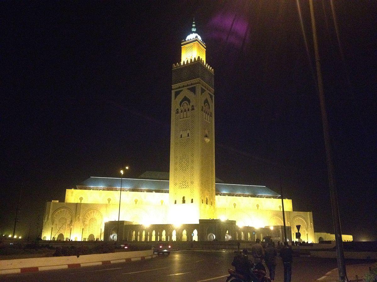 Mosque Wikipedia: Hassan II Mosque
