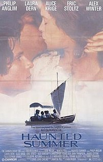 <i>Haunted Summer</i> 1988 film by Ivan Passer