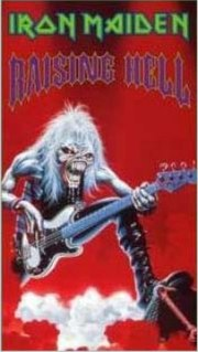 <i>Raising Hell</i> (video) 1994 video by Iron Maiden