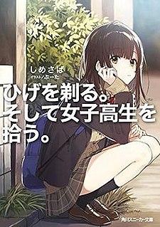 <i>Higehiro</i> Japanese light novel series and its franchise