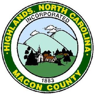 Highlands, North Carolina - Image: Highlands Logo
