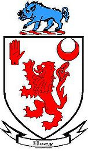 Hoey - Hoey family coat of arms