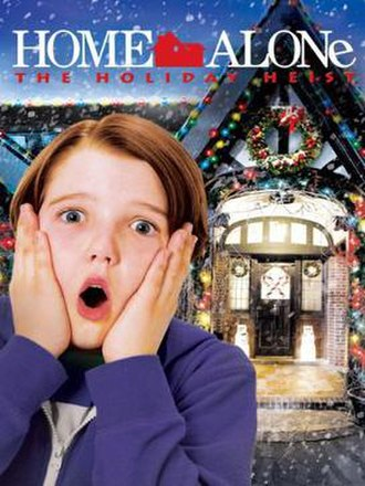 Home Alone: The Holiday Heist - DVD cover