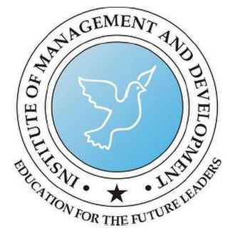 Institute of Management and Development, New Delhi - Image: Imdnd