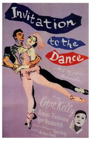 Invitation to the Dance (film) - Theatrical release poster