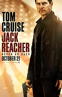 <i>Jack Reacher: Never Go Back</i> 2016 action thriller film directed by Edward Zwick
