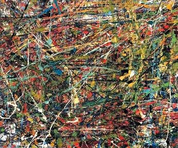 Jean-Paul Riopelle, 1951, Untitled, oil on canvas, 54 x 64.7 cm