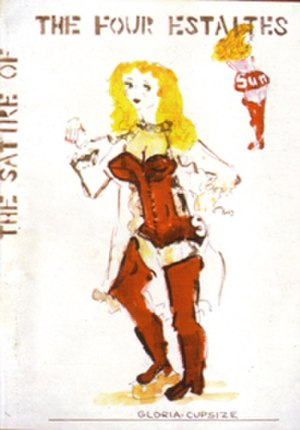 A Satire of the Three Estates - Detail from the front cover of the programme for John McGrath's 1996 adaptation.