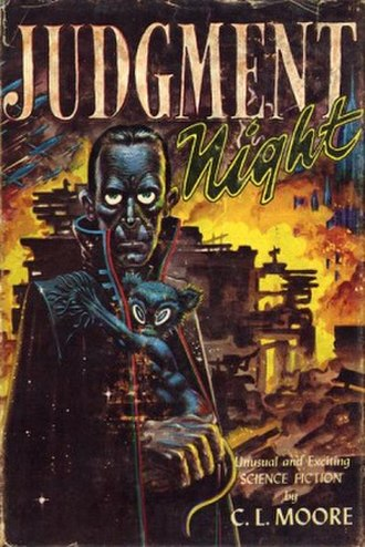 Judgment Night (collection) - Dust-jacket from the first edition.