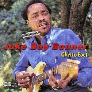 Juke Boy Bonner - Bonner on the cover of Arhoolie CD 9040