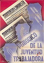 Juventud Comunista (JCI newspaper) poster.jpg
