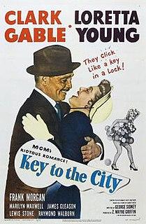 <i>Key to the City</i> (film) 1950 film by George Sidney