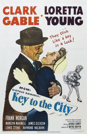 Key to the City (film) - Image: Key to the City Film Poster