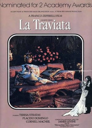 La Traviata (1983 film) - Film poster