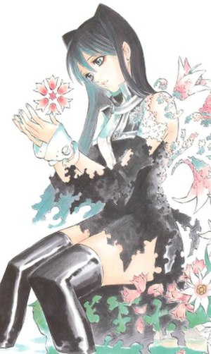 Lenalee Lee - Lenalee Lee as drawn by Katsura Hoshino