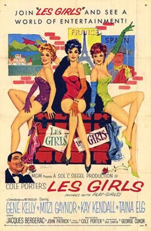 Les Girls - Original movie poster