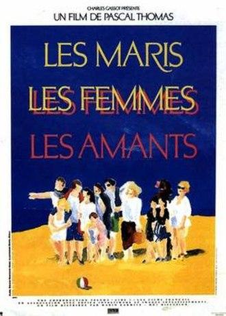 Les Maris, les Femmes, les Amants - Film poster