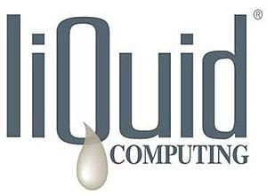 Liquid Computing - Image: Liquid Logo Black