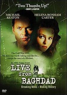 <i>Live from Baghdad</i> (film) 2002 television film