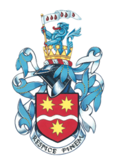 London oratory school arms.png