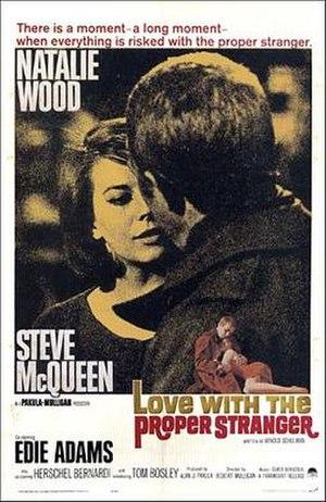 Love with the Proper Stranger - Film poster