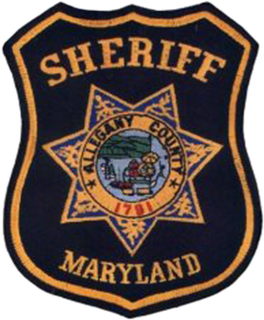 Allegany County Sheriffs Office (Maryland) primary law enforcement agency for Allegany County, Maryland