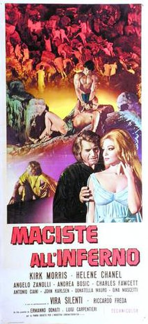 The Witch's Curse - Image: Maciste allinferno italian movie poster md