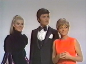 Germany in the Eurovision Song Contest 1969 - Peggy March, Rex Gildo and Siw Malmkvist introduced in the show.