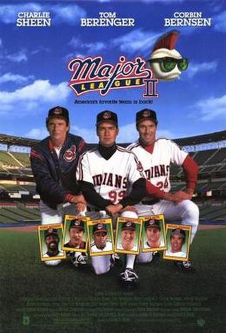 Major League II - Theatrical release poster