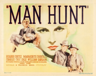 <i>Man Hunt</i> (1936 film) 1936 film by William Clemens